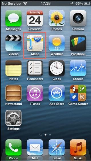 Cara Menggunakan GPS iPhone Sebagai Petunjuk Jalan 1