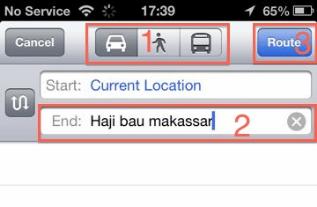 Cara Menggunakan GPS iPhone Sebagai Petunjuk Jalan 4
