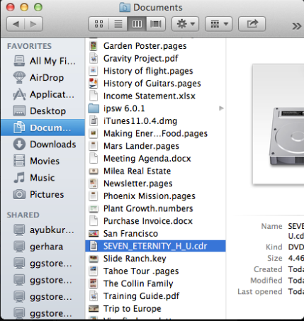 Cara Merubah File dari CD atau DVD Jadi iso di Mac 5