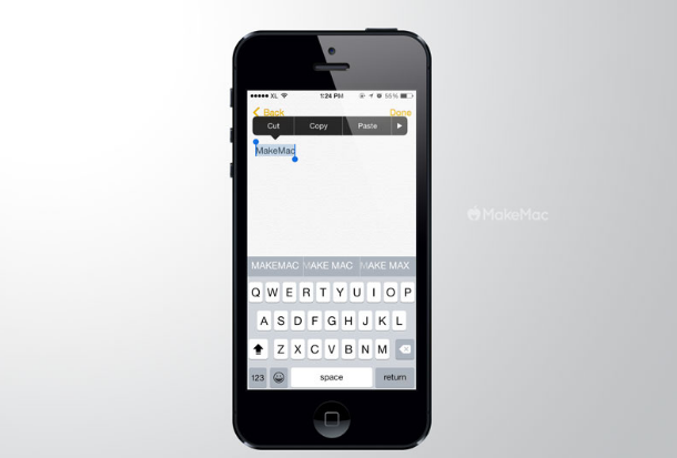 Cara Merubah Huruf Kapital Dengan Mudah Menggunakan QuickType di iOS 8