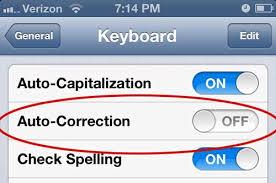 Cara Mudah Menonaktifkan Auto-corect di iPhone dan iPad