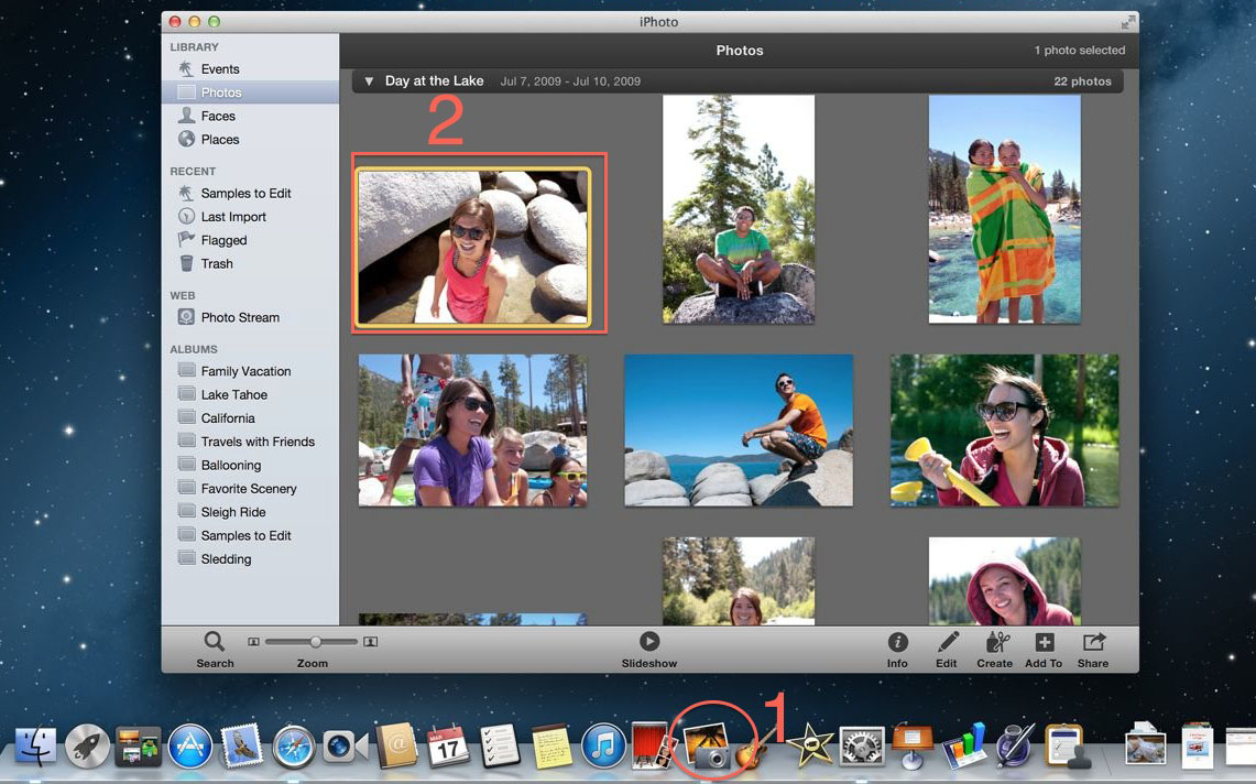 Cara Resize Gambar Dengan iPhoto di Macbook 1