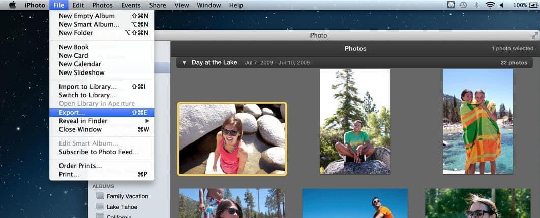 Cara Resize Gambar Dengan iPhoto di Macbook 2