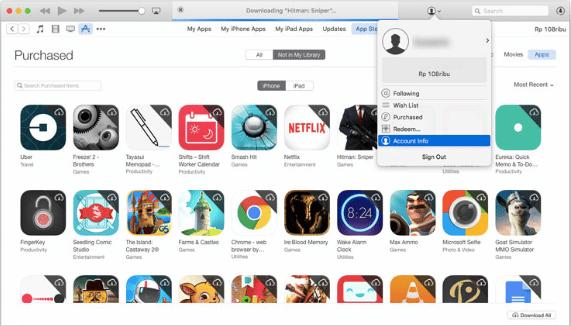 Cara Sembunyikan App Lewat iTunes Store 2