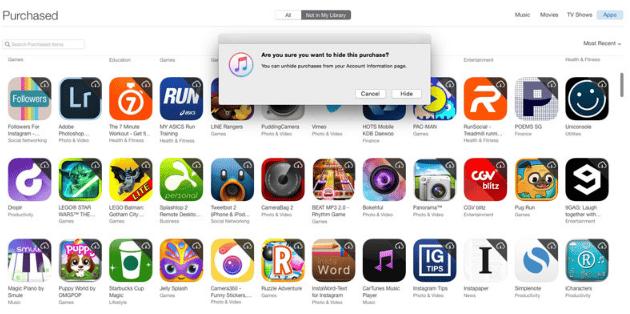 Cara Sembunyikan App Lewat iTunes Store 5