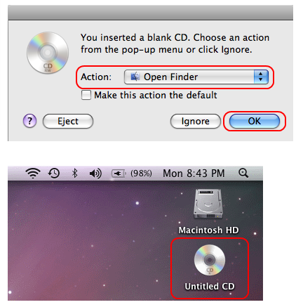 Cara Simpel Burning CD di Mac OS X 2