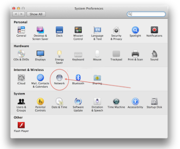 Cara Simpel Setting IP Addres di Macbook 2