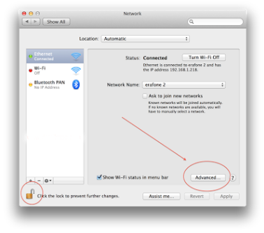 Cara Simpel Setting IP Addres di Macbook 3