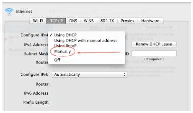 Cara Simpel Setting IP Addres di Macbook 5