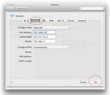 Cara Simpel Setting IP Addres di Macbook 6