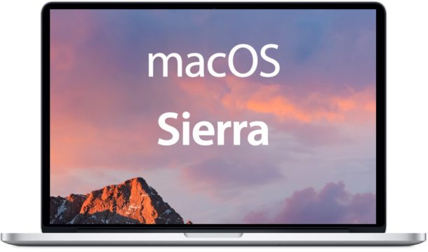Mac yang Support mac OS Sierra