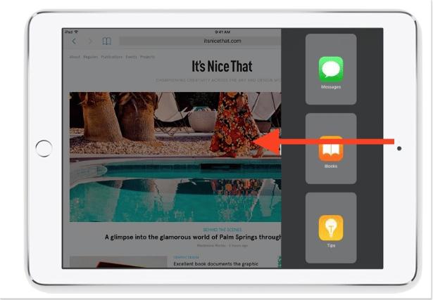 Cara Menggunakan Slide di iPad 2