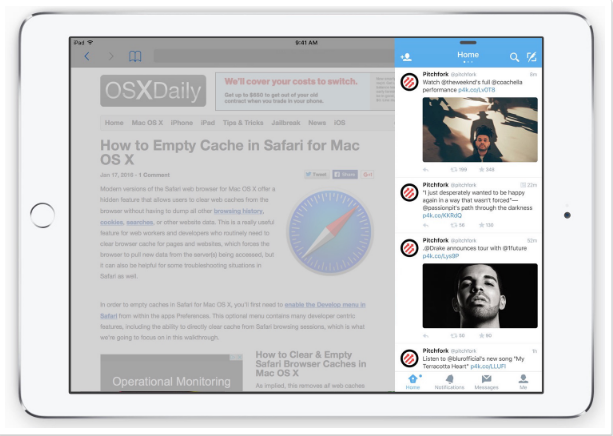 Cara Menggunakan Slide di iPad 3