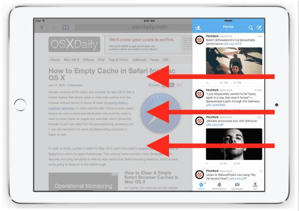 Cara Menggunakan Slide di iPad 4