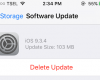 Cara Hapus File Update Software iOS