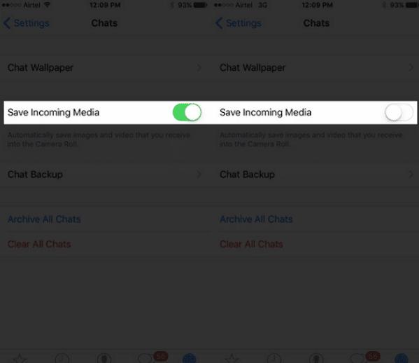 Cara Mematikan Auto Download Foto, Video, Suara WhatApp di iOS