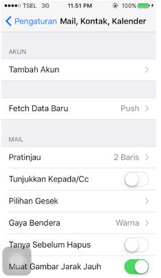Cara Memindahkan Kontak Dari Akun Google ke iPhone 2