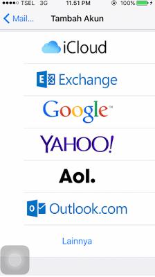 Cara Memindahkan Kontak Dari Akun Google ke iPhone 4