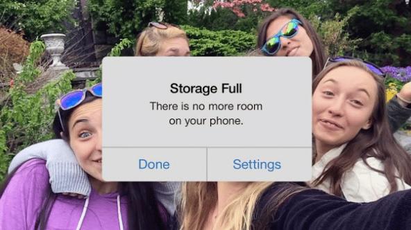 Cara Mengatasi Media Penyimpanan Penuh di iPhone dengan Google Photo Free Up Space