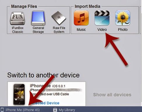 Cara Simpel Memasukan Video ke iPhone Via iFunbox