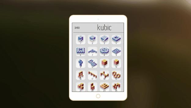 Kubic, Games Puzzle Unik Ilusi Optik Untuk iOS 2