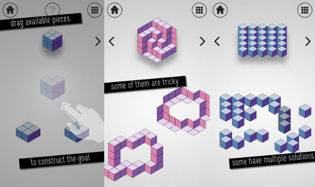 Kubic, Games Puzzle Unik Ilusi Optik Untuk iOS 3