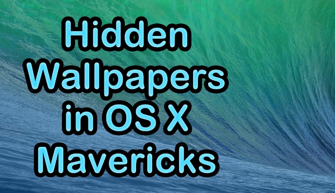 Wallpaper OS X Mavericks