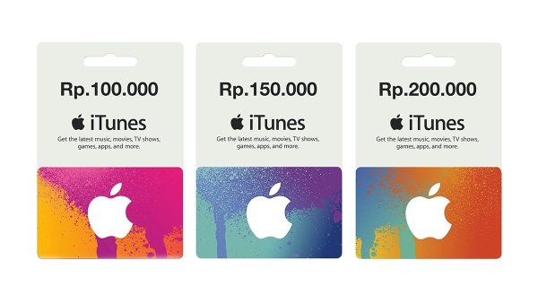 iTunes Gift Card Pada iPhone