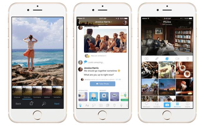 Amity, Aplikasi Chat Ekstra Interaktif dan Fitur Live Mode Untuk iPhone anda 2