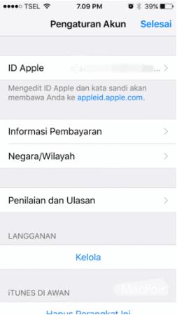 Cara Menghapus Kartu Kredit Dari Apple ID Dengan Mudah