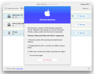 Aplikasi Restore Data Dengan Fitur Recover Data di iOS terbaru
