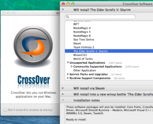 Install Program Windows di Mac dengan CrossOver
