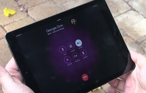 Cara Melakukan Panggilan Telepon Dari iPad