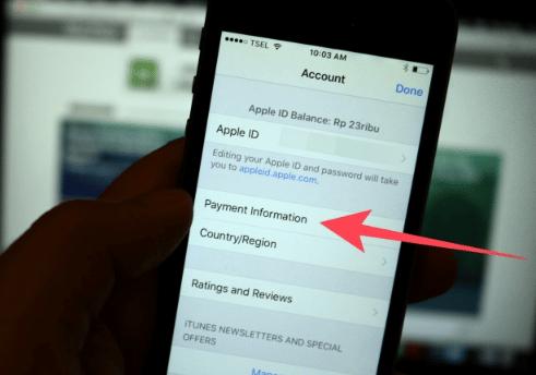 Cara Simpel Memasukkan Kartu Kredit ke iPhone di App Store 4