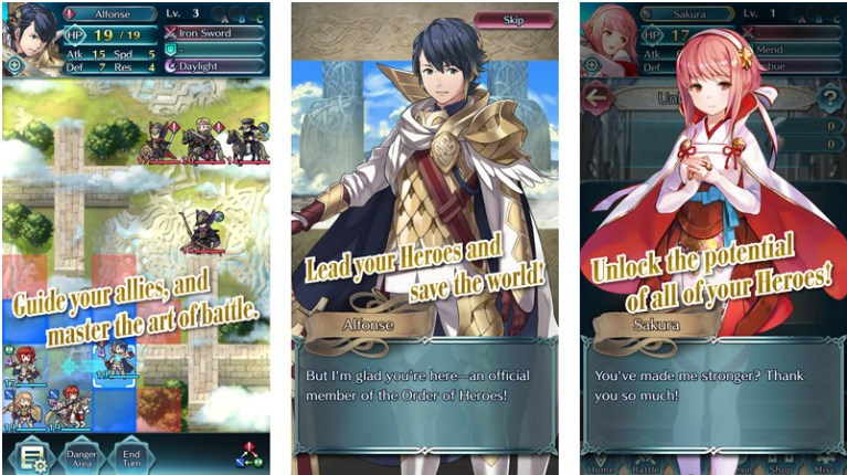 Download Game Fire Emblem Heroes untuk iOS