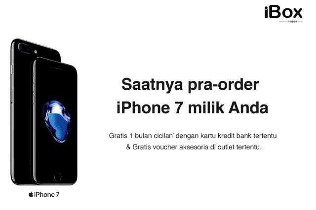 Harga dan Cara Pre-Order iPhone 7 di iBox