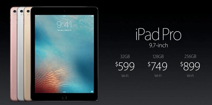 iPad Pro 2 9,7 Inci