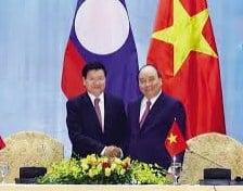 Vietnam dan Laos