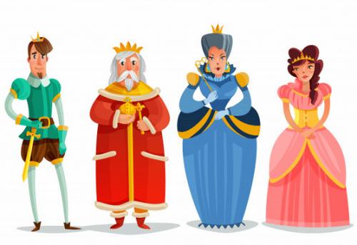 prince-princess-queen-king
